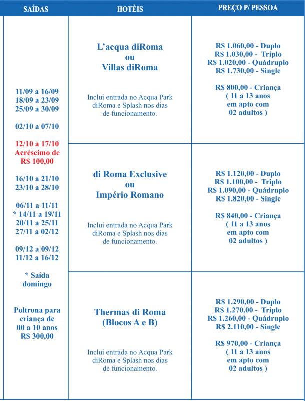 Calendário de Viagem