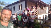 Rota das 10 Cachoeiras -  Casarão Comunidade Quilombola de Cubas Voluntários do Projeto